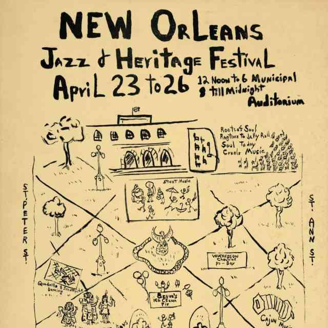 1978 Jazz Fest Poster