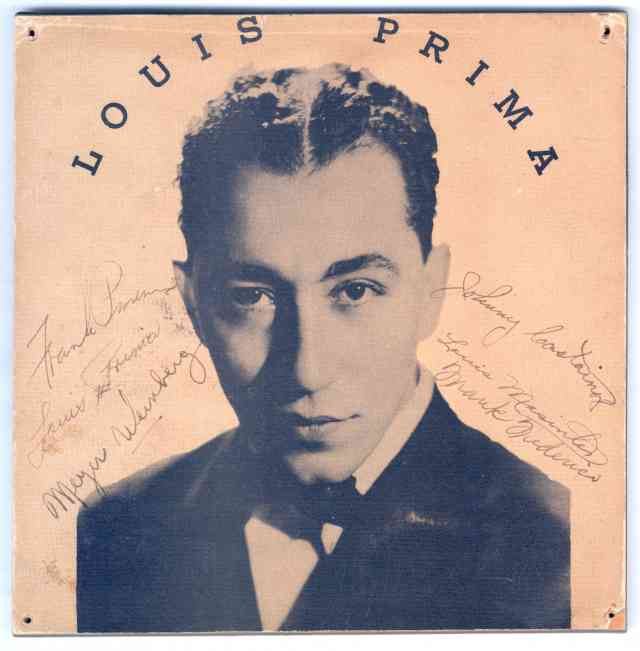 The Wildest: Louis Prima Comes Home