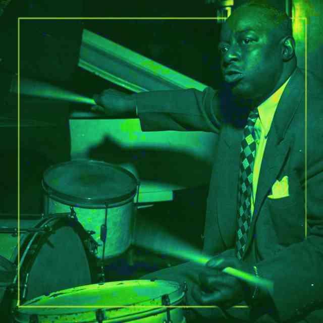 Drumsville Exhibition - Baby Dodds