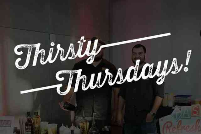 Thirsty Thursday event infographic