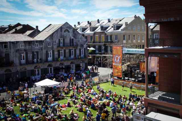 French Quarter Festival at the New Orleans Jazz Museum
