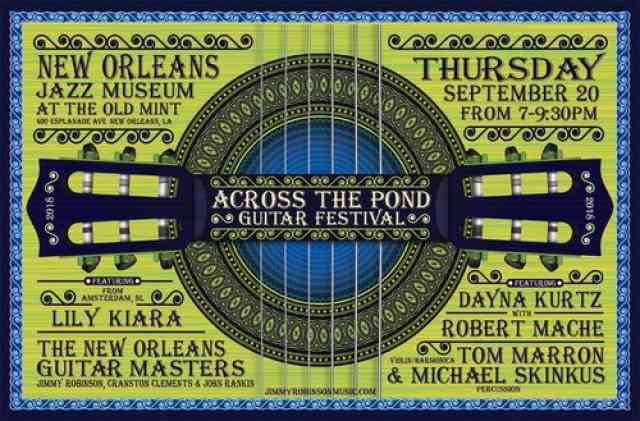 Across The Pond Guitar Festival