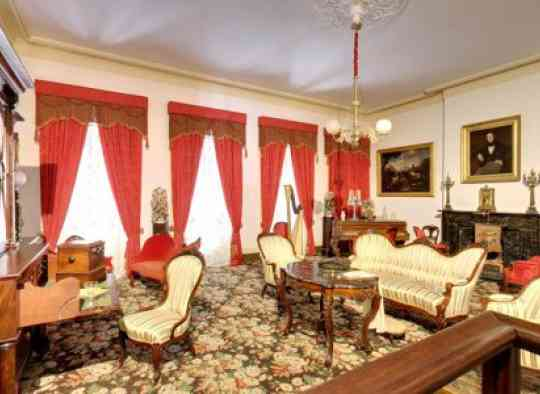 1850 House Second Floor